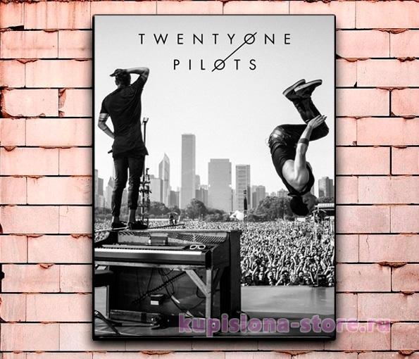Постер «Twenty One Pilots» большой