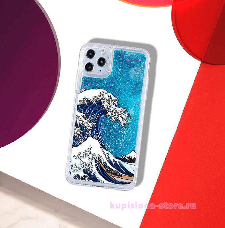Чехол для iPhone «Большая волна в Канагаве»