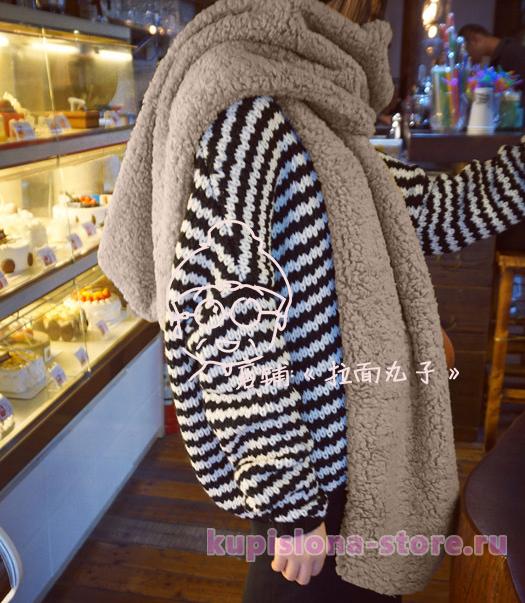 Палантиновый шарф