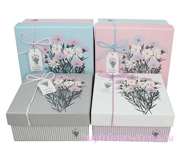 Подарочная коробка «Beautiful flowers» большая