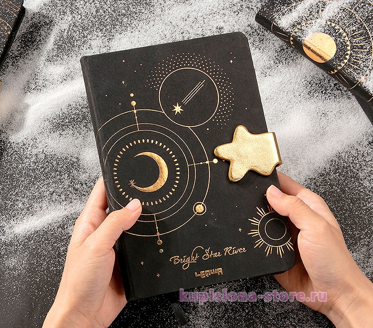 Блокнот «Bright star river»