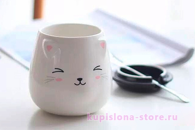 Кружка «Blushing cat»