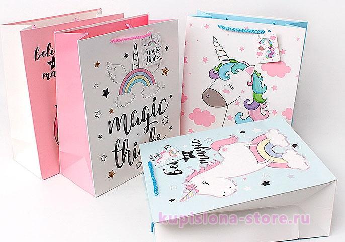 Подарочный пакет «Magic things» большой