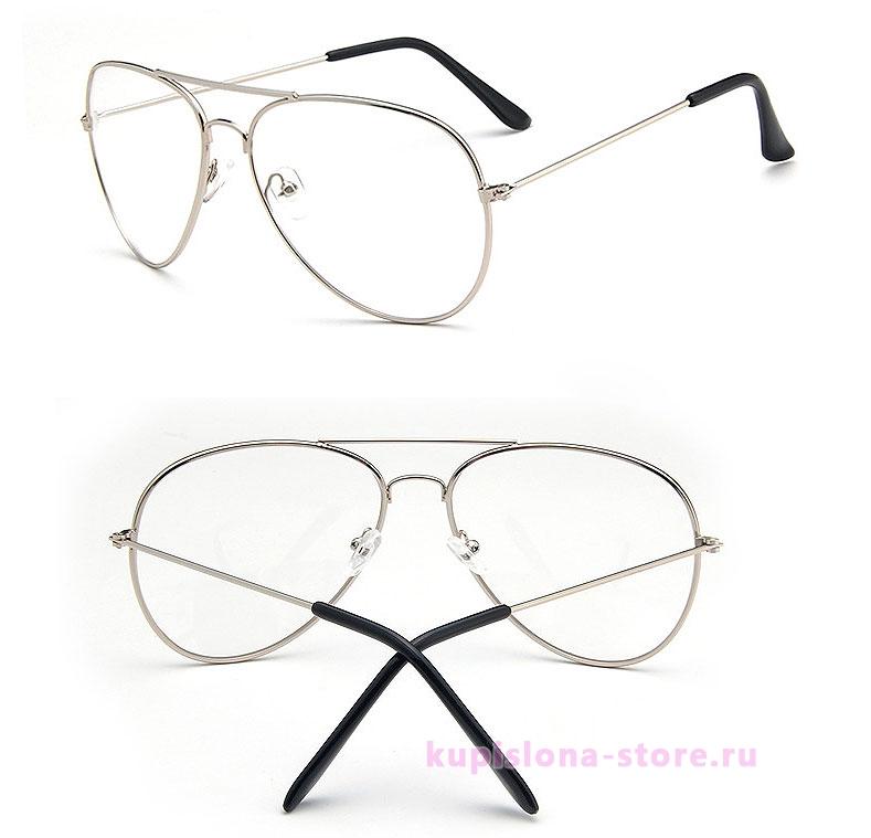 Имиджевые очки-авиаторы
