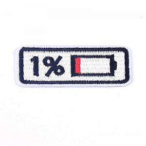 Нашивка «1% заряд»