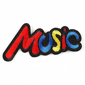 Нашивка «Music»