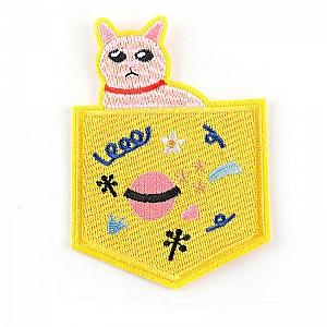 Нашивка «Кот в кармашке»