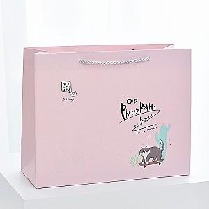 Подарочный пакет «Instant cat» большой