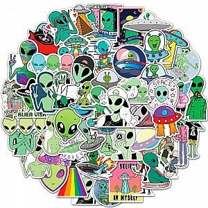 Набор наклеек «Инопланетянин»