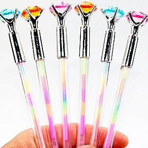 Ручка с разноцветными чернилами