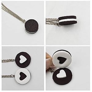 Парные подвески «Печенька»