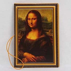 Обложка на паспорт «Мона Лиза»