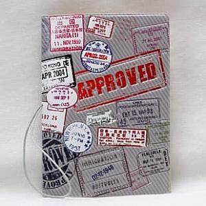 Обложка на паспорт «Approved»