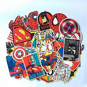 Набор наклеек «Супергерои»