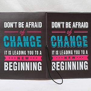 Обложка на паспорт «Don't be afraid»