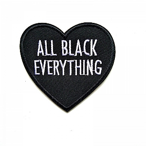 Нашивка «All black everything»