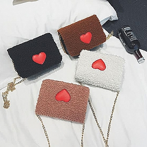 Сумочка «Red heart»