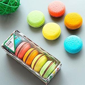 Набор стирательных резинок «Macarons»