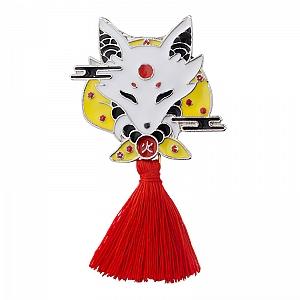 Брошь-значок «Chinese fox»