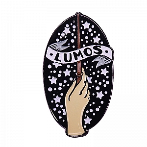 Брошь-значок «Lumos»