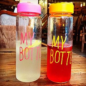 Бутылочка «My bottle» цветная