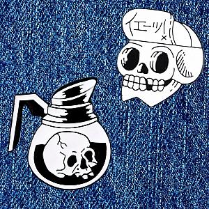 Брошь-значок «Skull»