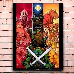 Постер «Черепашки-ниндзя» большой