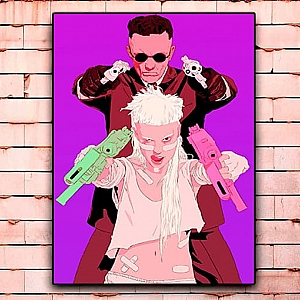 Постер «Die Antwoord» большой