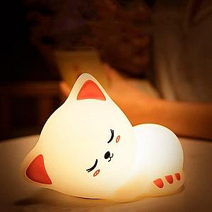 Ночник «Sleeping cat»