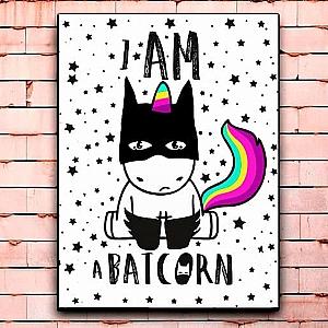 Постер «Caticorn» средний