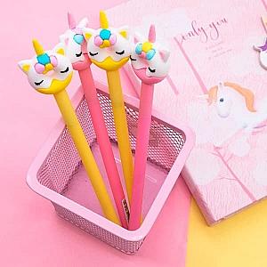 Ручка «Кот-единорог»