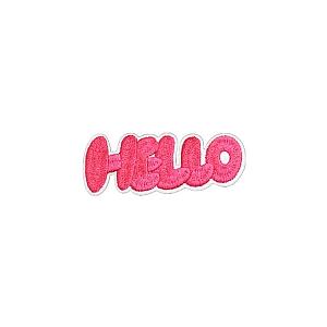 Нашивка «Hello»