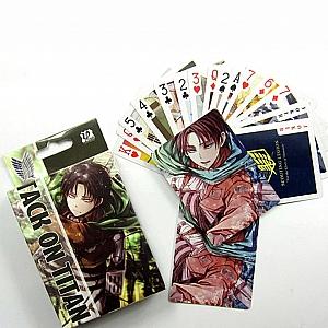 Игральные карты «Атака титанов»