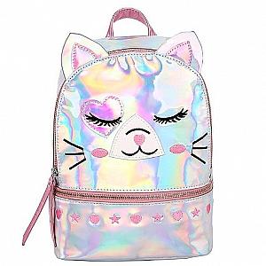 Голографический рюкзак «Котик»