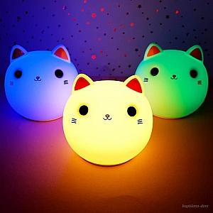 Ночник «Улыбчивый котенок»