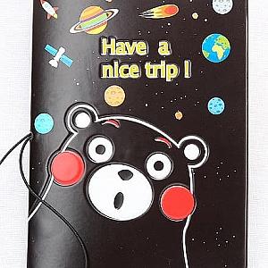 Обложка на паспорт «Bear»