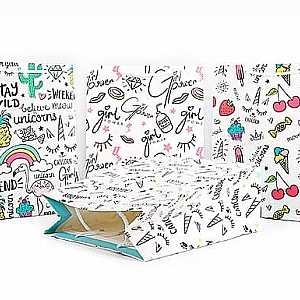 Подарочный пакет «Little things» большой