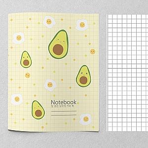 Тетрадь «Avocado and egg»