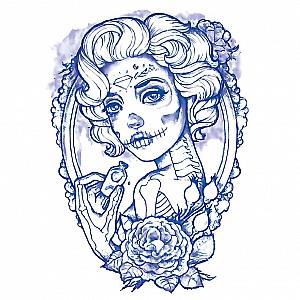 Временная татуировка «Мертвая невеста»