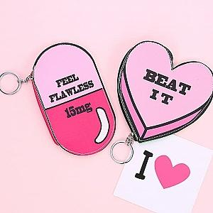 Ключница-монетница «Pink world»