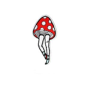 Нашивка «Мухомор на ножках»