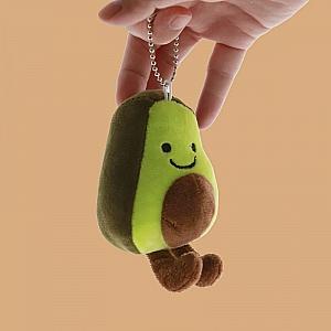 Мягкий брелок «My friend avocado»