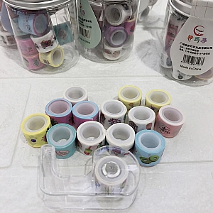 Набор скотча для скрапбукинга с диспенсером «Paper tape»