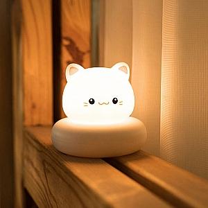Ночник «Котик-улыбашка»