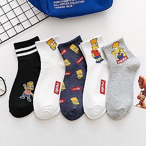 Носки «Барт Симпсон»