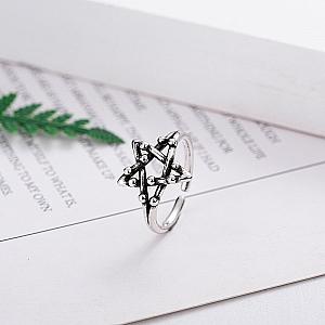 Кольцо «Пентаграмма»