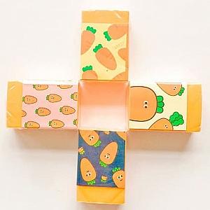 Стирательная резинка «Морковная»