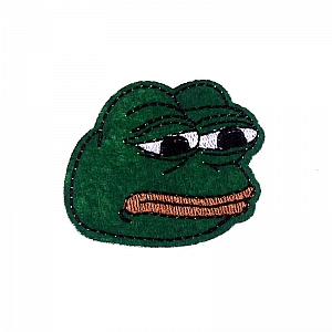 Нашивка «Pepe the frog»
