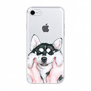 Чехол для iPhone «Smiling dog»