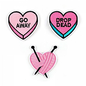 Нашивка «Pink heart»
